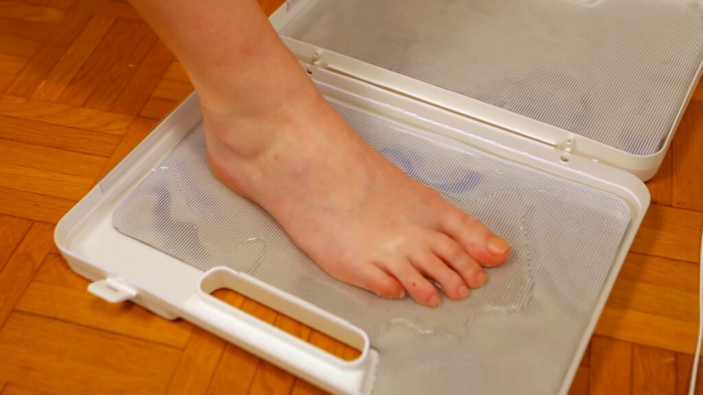 Ionophorèse pieds